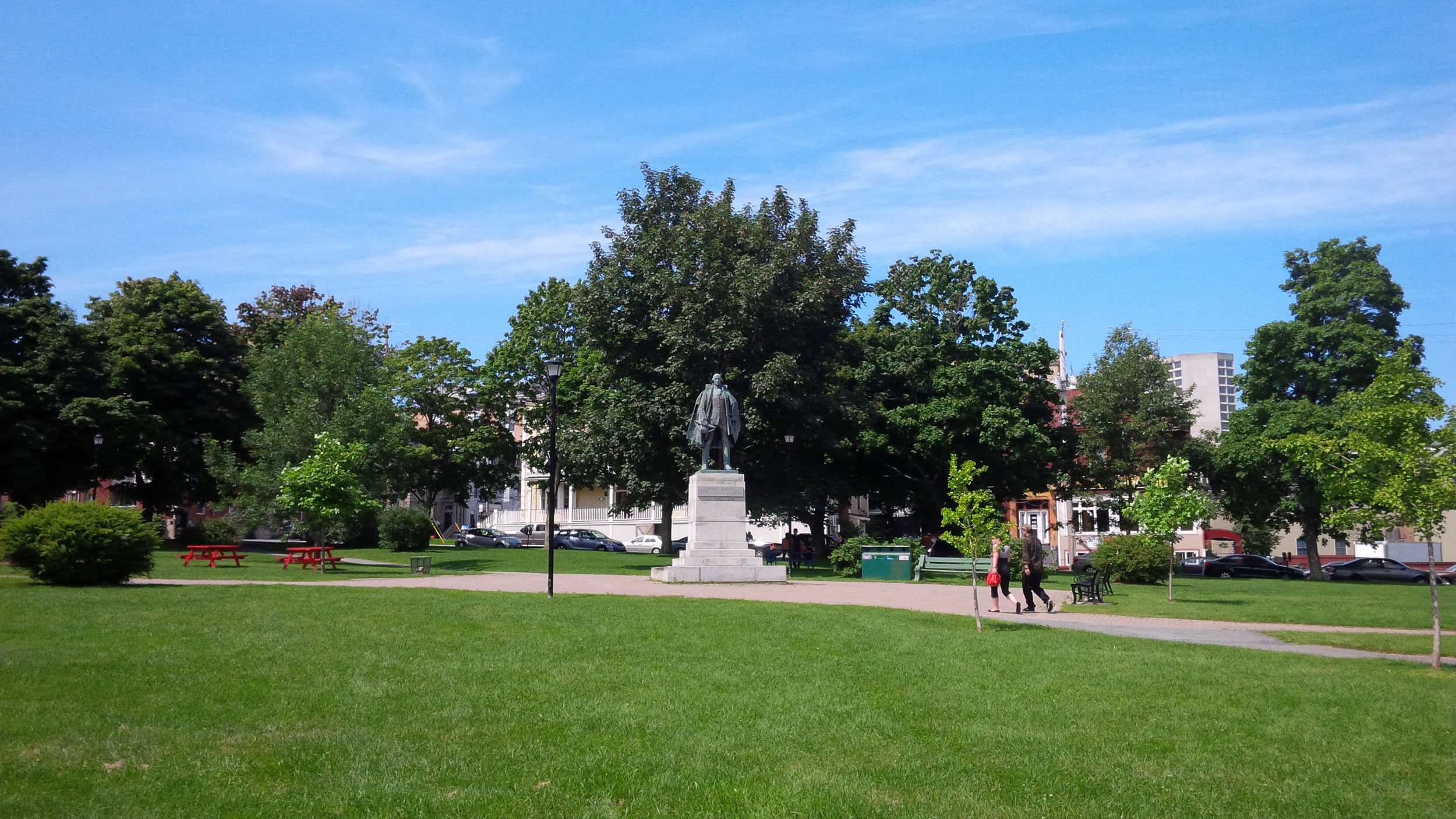 Cornwallis Park And Statue
