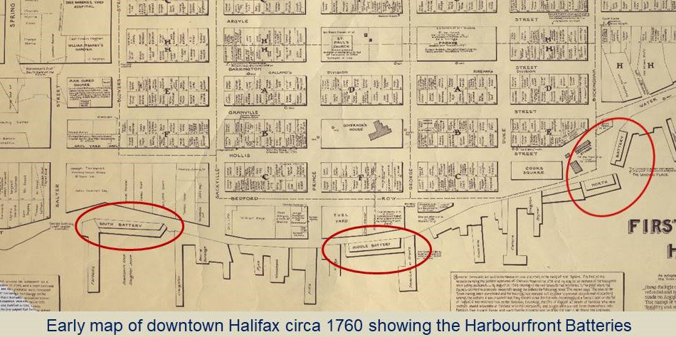 Halifax Harbourfront Batteries