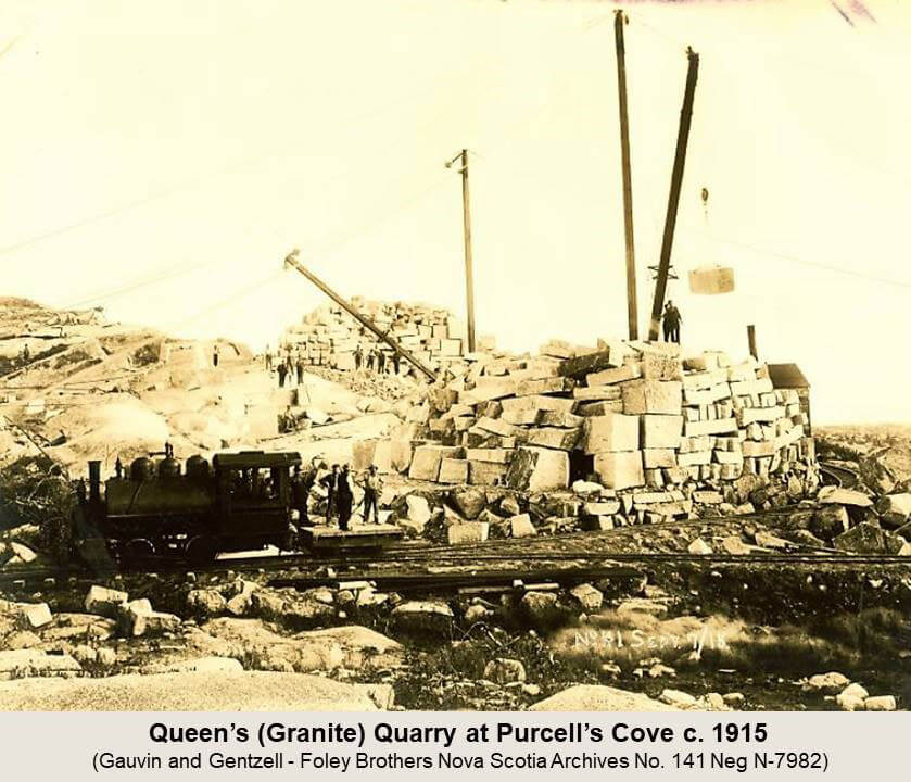 Purcells Cove Quarries